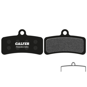 GALFER BIKE Standard Bremsbelag Shimano Saint BR-M810,Zee